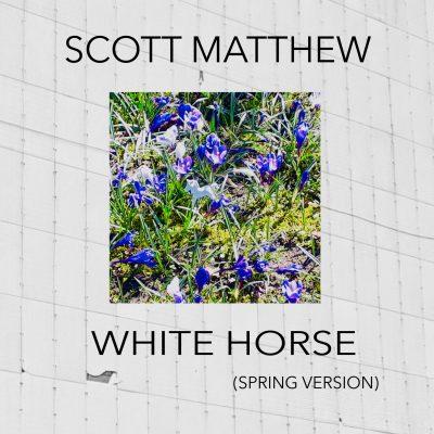 SCOTT MATTHEW_Cover_White Horse (Spring Vers.)